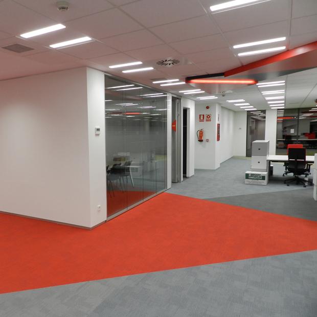 Vodafone sede madrid tmi revestimientos for Oficina vodafone empresas